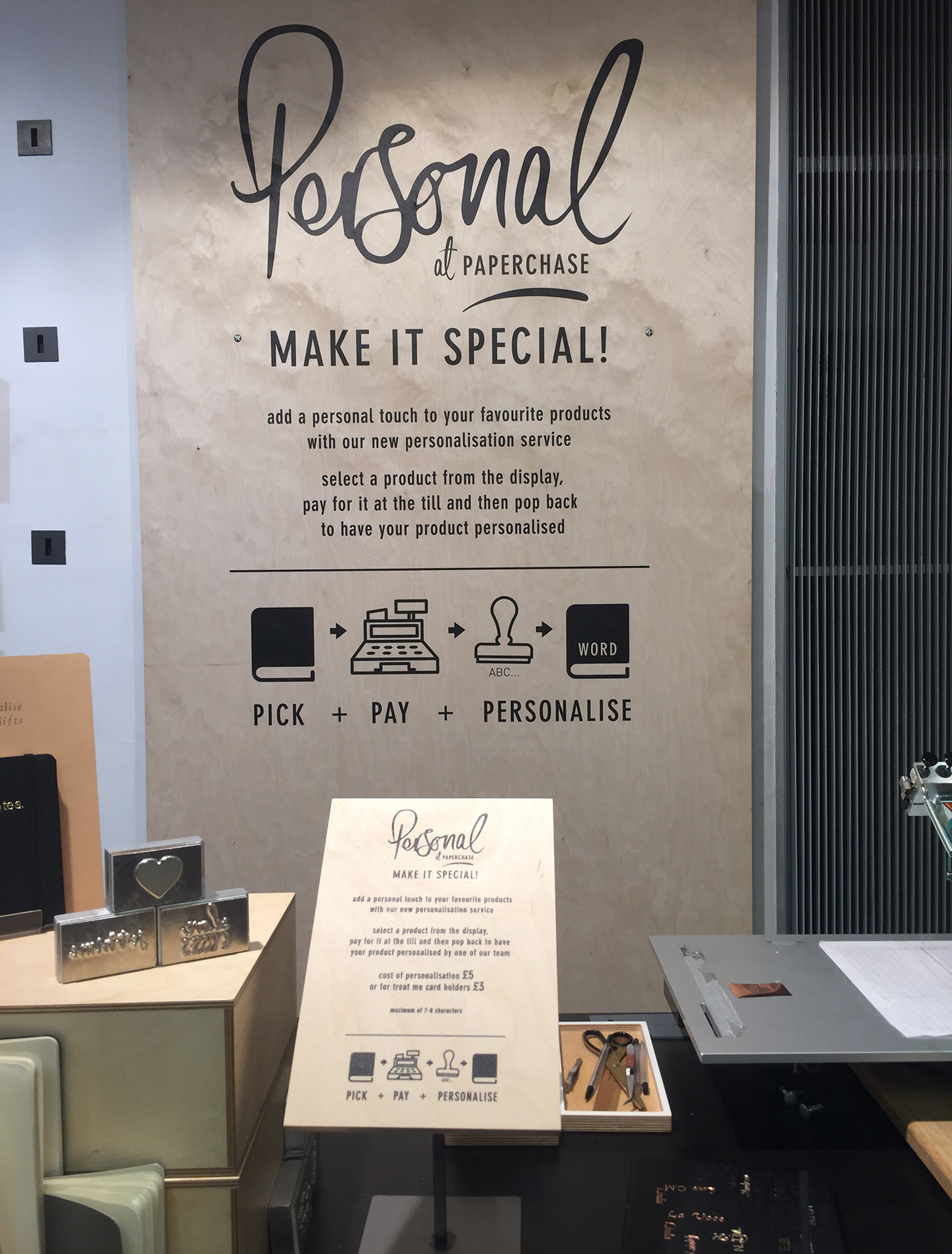 Paperchase point of sale whiteghyll limited case paperchase image b reheart Images